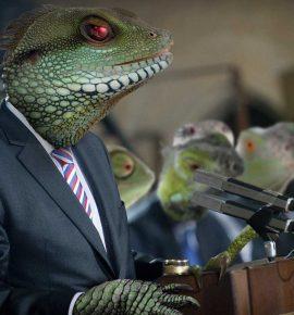 Reptilianos y simiente de la serpiente: las consecuencias de las teorías sobre reptiles humanos