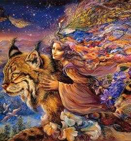 El animal de poder y la mente de una bestia
